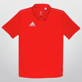 26d74e11752 Camisa Polo Adidas Core 15 Infantil