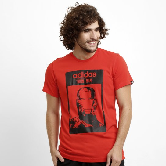 Camiseta Adidas Iron Man - Compre Agora  e58355d1f1aec