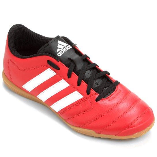 3be250c2a3 Chuteira Adidas Gloro 16.2 IN Futsal - Vermelho+Branco ...