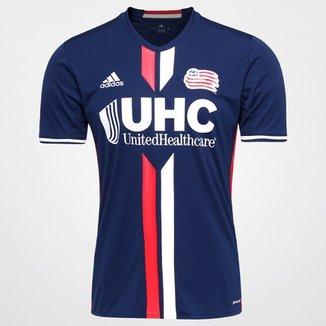 b7122c5a23 Camisa New England Revolution MLS Home 2016 s nº Torcedor Adidas Masculina