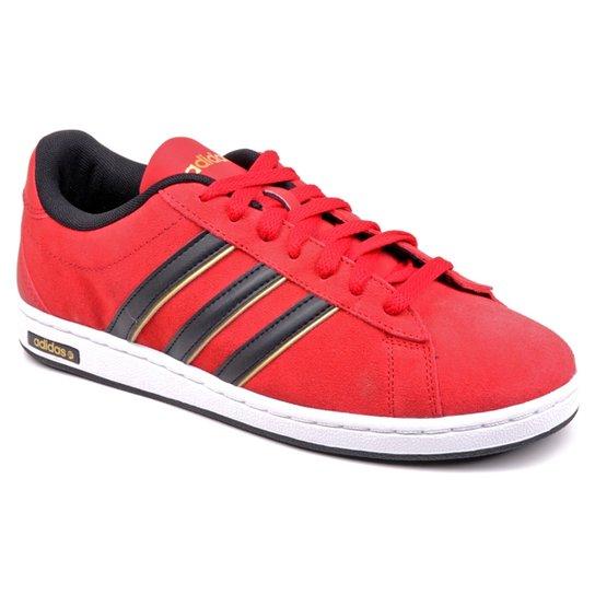 b04c28f3f7c Tênis Adidas Derby Cam - Vermelho - Compre Agora