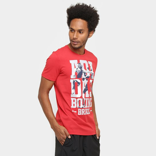 eed144b3e7 Camiseta Adidas Rio Boxing Masculina - Compre Agora