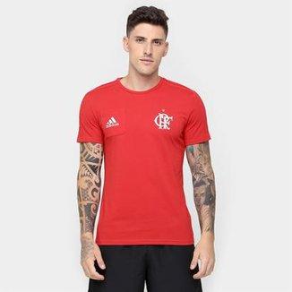 c904d2c918 Camiseta Flamengo Adidas Viagem Masculina