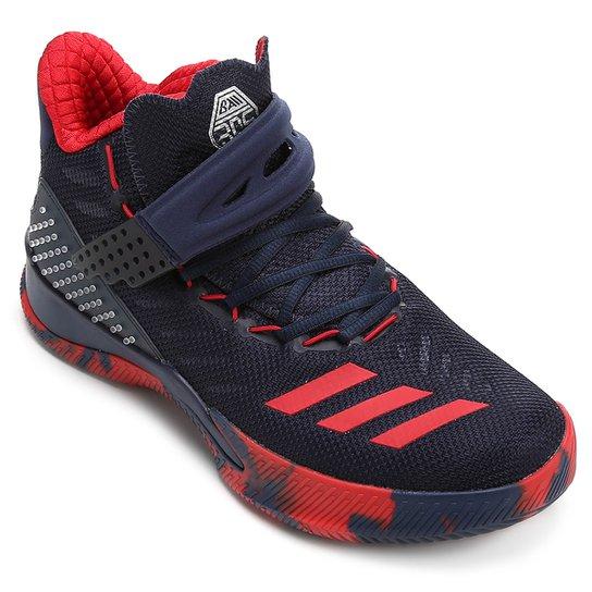 Tênis Cano Alto Adidas Ball 365 Masculino - Marinho+Vermelho 21d5b8eda0c60