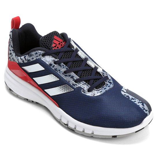 e2e99bb138f Tênis Adidas Skyrocket 2 Masculino - Marinho e Vermelho - Compre ...
