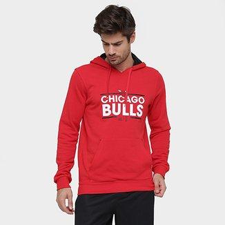 e3f2080d0cd Moletom Adidas NBA Hoody Chicago Bulls