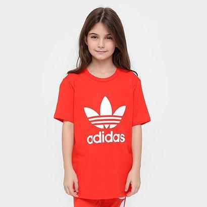 Camiseta Infantil Adidas Boyfriend J Feminina