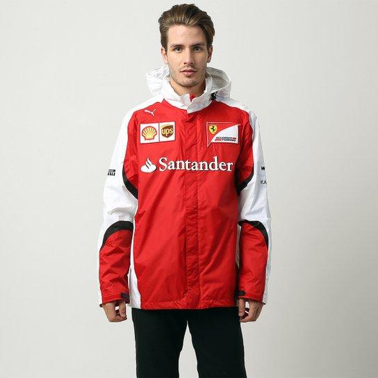 Jaqueta Puma Scuderia Ferrari Team - Compre Agora  ab8af65925b72