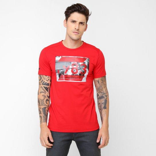 Camiseta Puma Ferrari Graphic Tee - Compre Agora  c08b4f02333