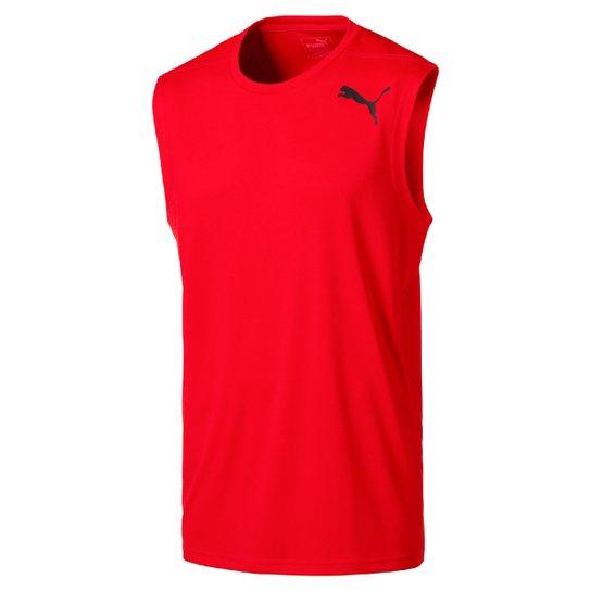 1406bd03446f9 Camiseta Regata Puma Essential - Vermelho - Compre Agora