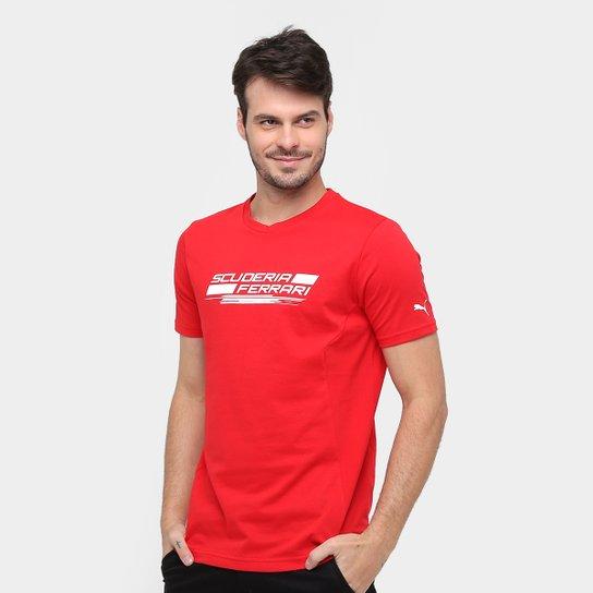 b09044b824 Camiseta Puma Scuderia Ferrari 2 Masculina - Compre Agora