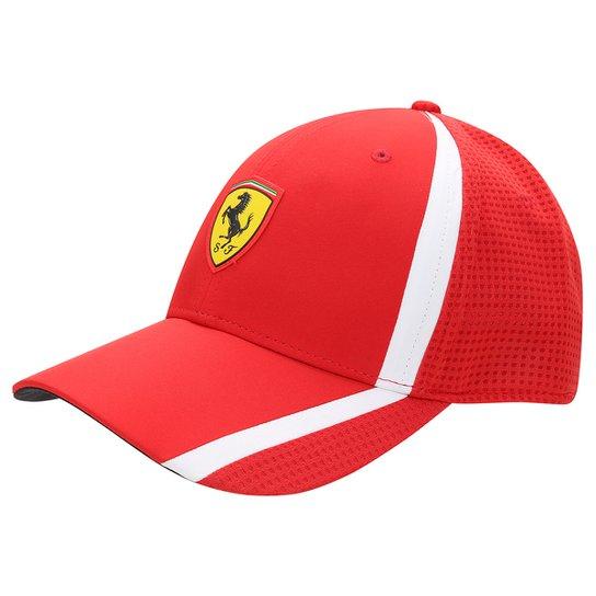 Boné Puma Ferrari Fanwear Redline - Compre Agora  69d533e6e75