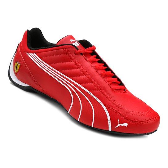 65a54212a0c6b Tênis Puma Scuderia Ferrari Future Kart Cat Masculino - Vermelho