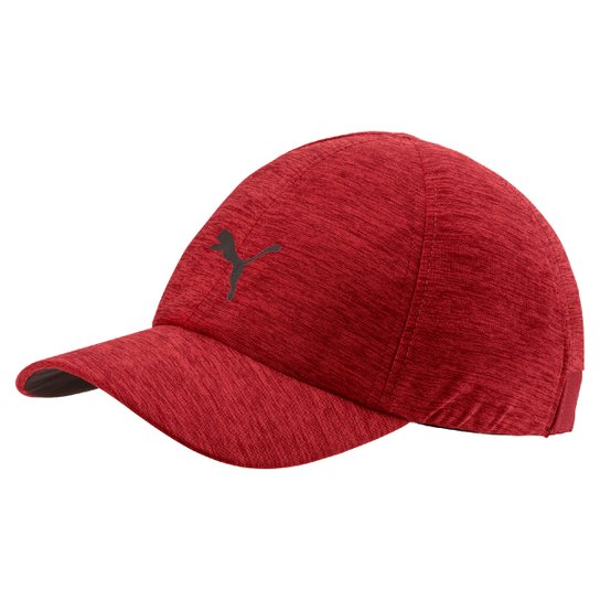 Boné Puma Stretchfit Aba Curva - Vermelho - Compre Agora  3d9a44786d6