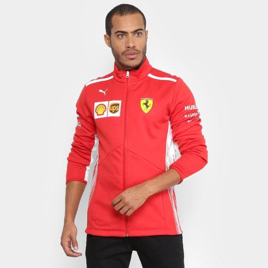 Jaqueta Puma Scuderia Ferrari Team Softshell Masculina - Compre ... 3a88015f3a3