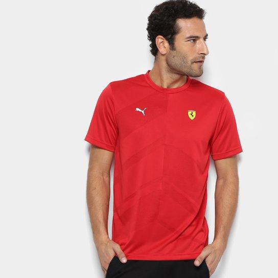 c646c0d793 Camiseta Puma Scuderia Ferrari EVO Masculina - Compre Agora