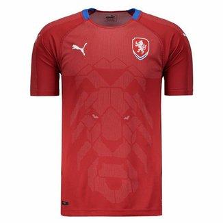 Camisa Puma República Tcheca Home 2018 36e5b03ea56d5