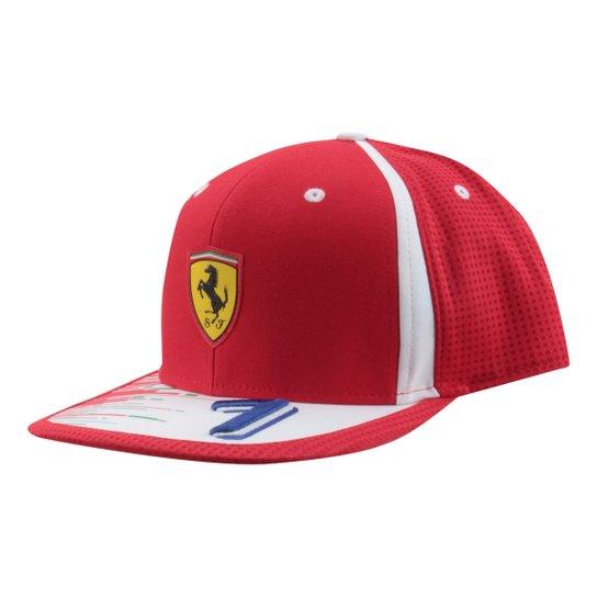 89b7d7c58e2e0 Boné Puma Scuderia Ferrari Raikkonen - Vermelho - Compre Agora ...