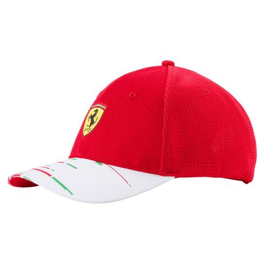 Boné Puma Scuderia Ferrari Team - Compre Agora  1461e997f13