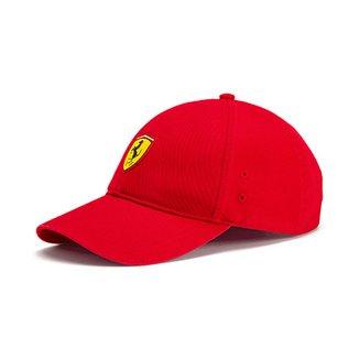 13f8c2954b285 Boné Puma Scuderia Ferrari Aba Curva Fanwear BB Masculino