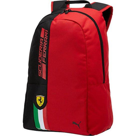 676eb30fd Mochila Puma Scuderia Ferrari Fanwear Vermelha - Vermelho | Netshoes
