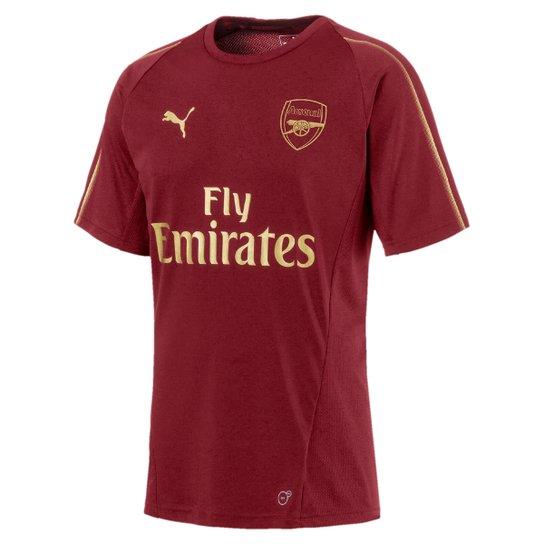 Camisa de Treino Arsenal 18 19 s nº Puma Masculina - Vermelho ... f9b58e235fffc