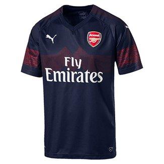 a63ae9faa7e6f Camisa Arsenal Away 2018 s n° - Torcedor Puma Masculina