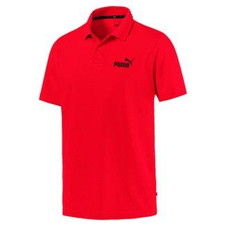 6c67e0381f Camisa Polo Puma ESS Jersey Masculina