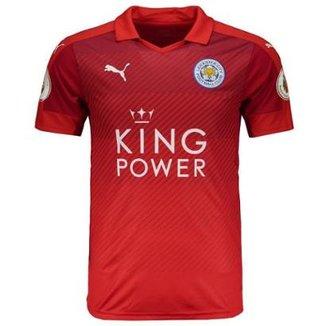 a756155b7f57c Camisa Puma Leicester City Away 2017 Premier League Masculina
