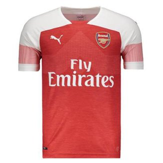 Camisa Puma Arsenal Home 2019 Masculina 03498db100880