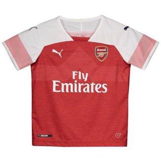 7fd0216836 Camisa Puma Arsenal Home 2019 Juvenil