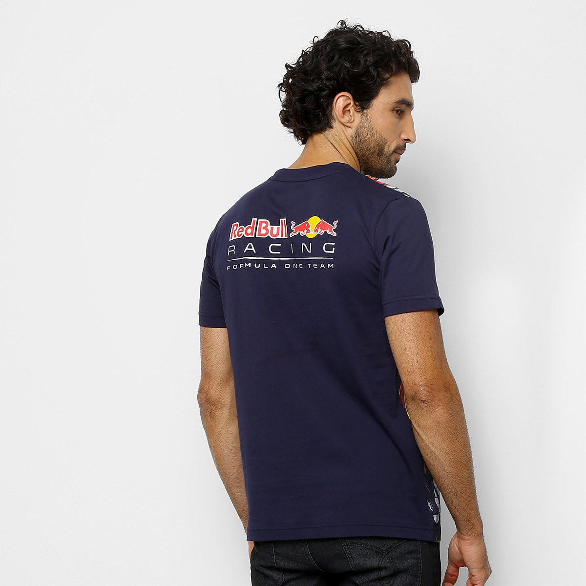 577aa89a15533 Camiseta Puma Red Bull Racing AOP Tee Masculina - Shopping TudoAzul