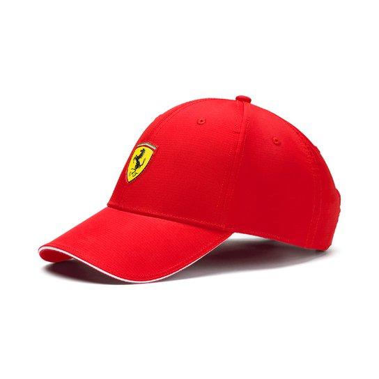5c01221d2d38d Boné Puma Aba Curva Ferrari Fanwear Baseball - Vermelho - Compre ...