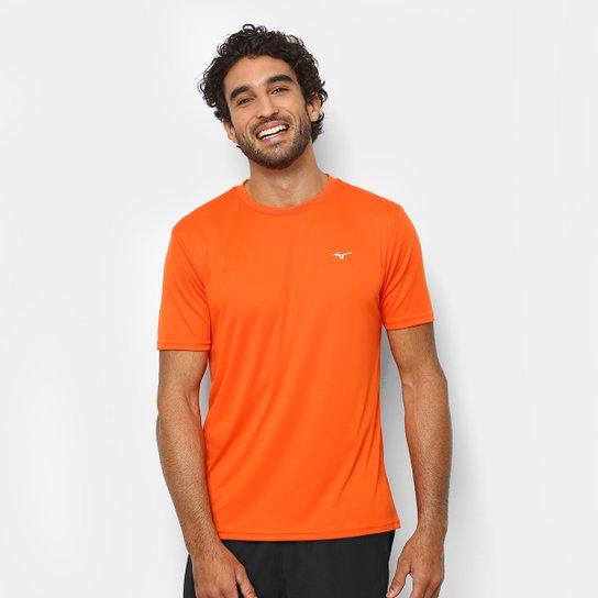 83f0594034 Camiseta Mizuno Run Spark 2 Masculina - Laranja Escuro - Compre ...