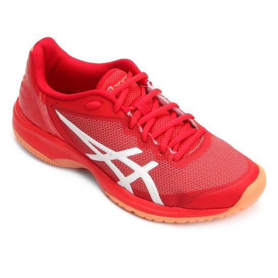 Tênis Asics Gel-Court Speed Feminino - Vermelho - Compre Agora ... 7e9184762552c