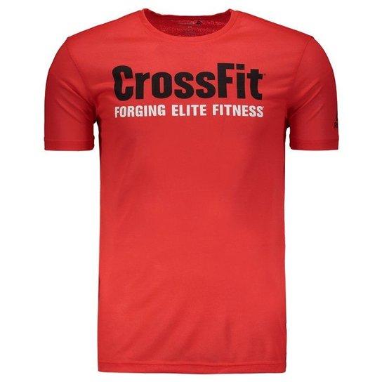 fa27d23038 Camiseta Reebok Crossfit FEF Speedwick - Vermelho
