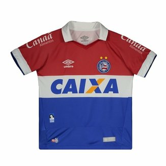 Camisa Umbro Bahia III 2016 N° 10 Juvenil 9ba4a14923f92