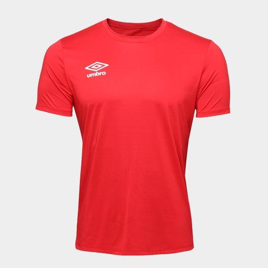 Camisa Umbro TWR Basic Masculina - Vermelho - Compre Agora  87a7f6556100c