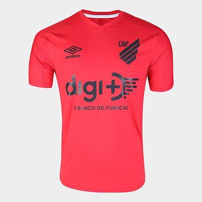 Camisa Athletico Paranaense 20/21 Aquecimento Umbro Masculina