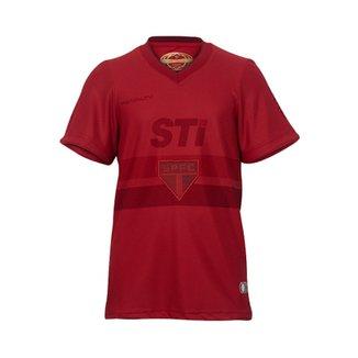 2255755e90 Camisa Penalty Spfc Vermelho Cor Da Raça