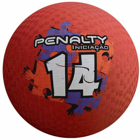 Bola Penalty Iniciação de Borracha N°14 - 533048 - Vermelho - Compre ... 83272617d52f7