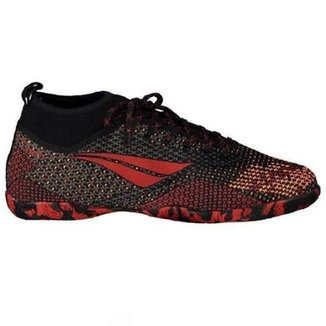 Compre Chuteira de Futsal Penalty Vermelha Null Online  0c313273e8f76