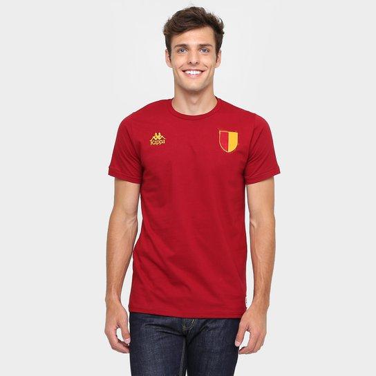 Camiseta Roma Kappa Masculina - Vermelho - Compre Agora  251bef3ac0d2b