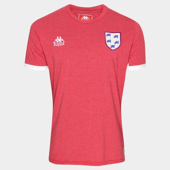 Camiseta Inglaterra Kappa Masculina - Compre Agora  90b0d5ad5c1d1