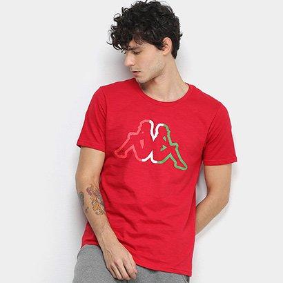 Camiseta Kappa Flag Masculina
