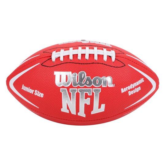 Bola Futebol Americano Wilson NFL Avenger Júnior - Vermelho - Compre ... 6f568f8f32a3e