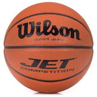 0b1a8a4a96 Bola de Basquete Wilson NCAA Jet Competition Natural - Tamanho 7