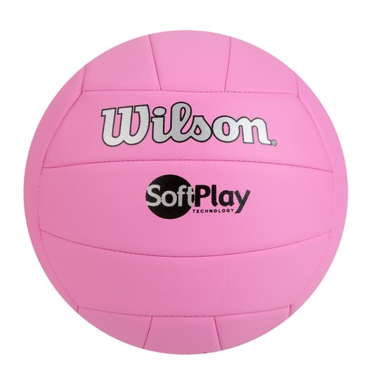 0d0c91109 Bola de Vôlei Wilson Soft Play - Rosa