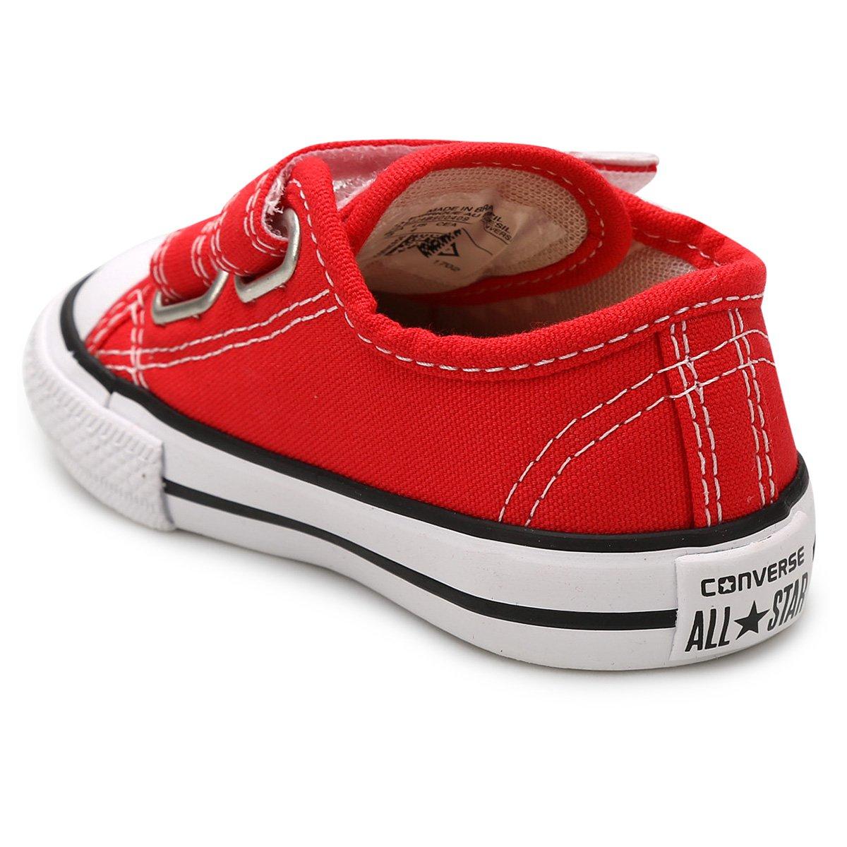 0ac679a22cce ... Tênis Infantil Converse All Star CT Border 2 Velcros Baby - Tam  25 -  ...