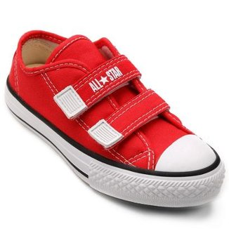 28b40ad9556 Tênis Infantil Converse All Star CT Border 2 Velcros